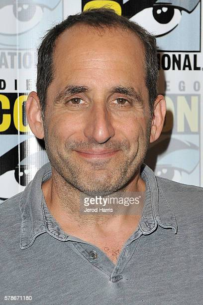 Actor Peter Jacobson attends the press line for 'Colony' on July 21 2016 in San Diego California