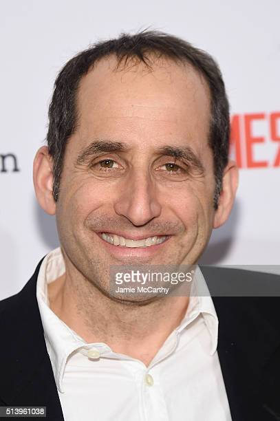 Actor Peter Jacobson attends the 'The Americans' season 4 premiere on March 5 2016 in New York City