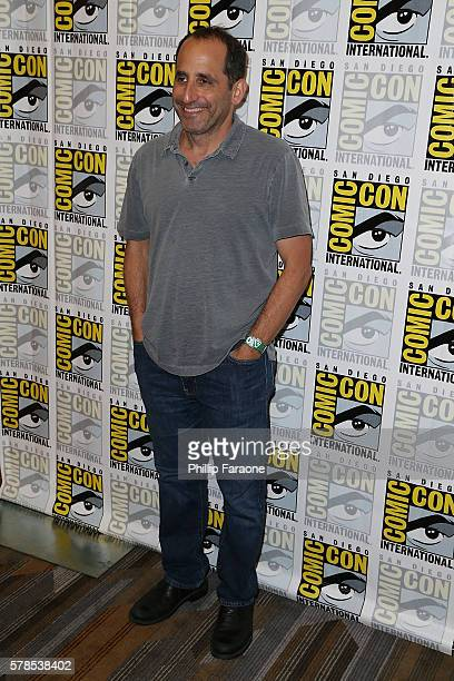 Actor Peter Jacobson from 'Colony' attends ComicCon International 2016 on July 21 2016 in San Diego California
