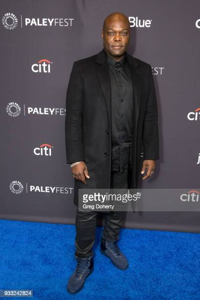 """Actor Peter Macon attends the 2018 PaleyFest Los Angeles for Fox's """"The Orville"""" at Dolby Theatre on March 17, 2018 in Hollywood, California."""