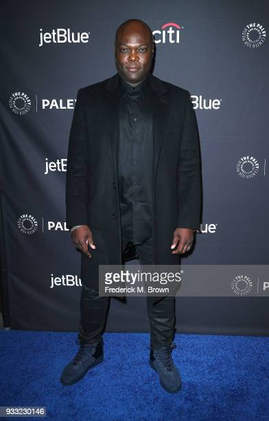 """Actor Peter Macon of the television show """"The Orville"""" attends The Paley Center for Media's 35th Annual Paleyfest Los Angeles at the Dolby Theatre on..."""