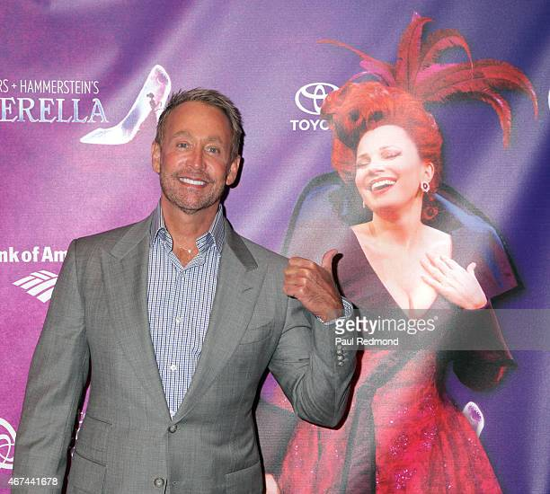 Actor Peter Marc Jacobson arrives at 'Rodgers Hammerstein's Cinderella' Opening Night at Ahmanson Theatre on March 18 2015 in Los Angeles California