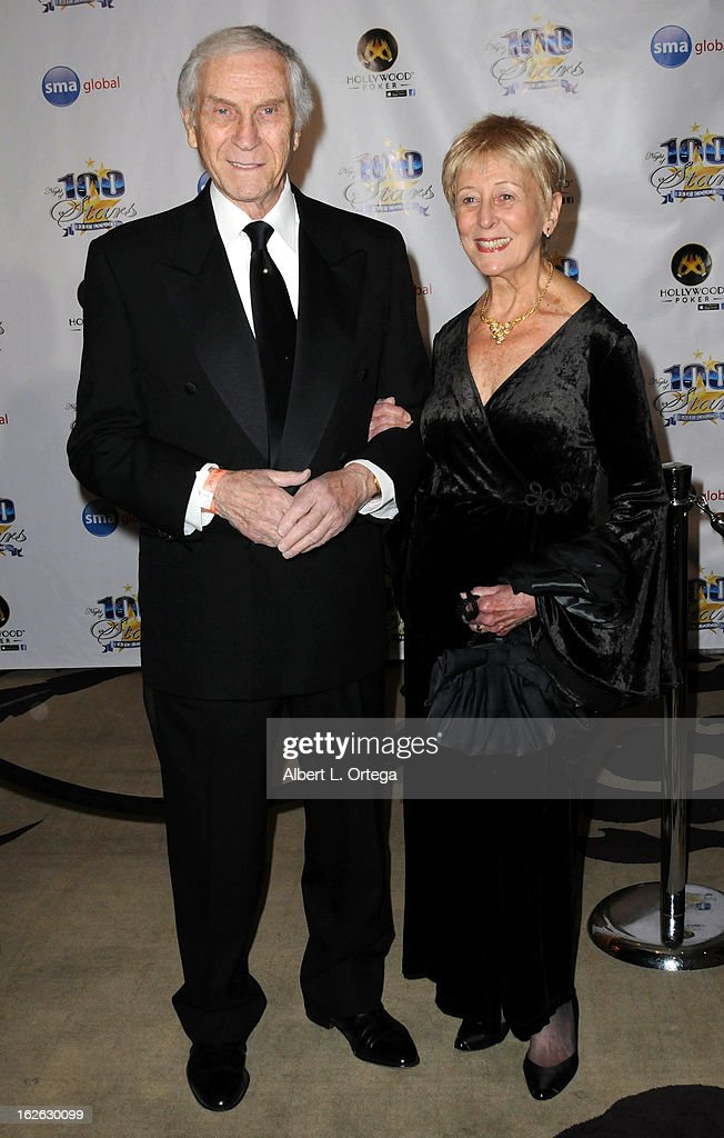 Actor Peter Mark Richmond and wife arrive for the 23rd Annual Night Of 100 Stars Black Tie Dinner Viewing Gala held at Beverly Hills Hotel on February 24, 2013 in Beverly Hills, California.