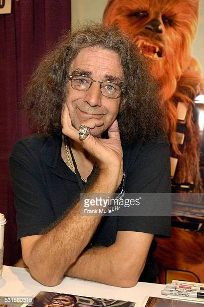 Actor Peter Mayhew appears in the Walk of Fame at Dragon*Con on September 1 2007 in Atlanta Georgia