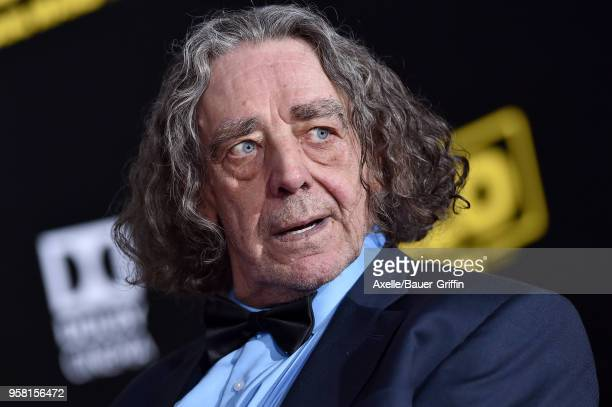 Actor Peter Mayhew arrives at the premiere of Disney Pictures and Lucasfilm's 'Solo A Star Wars Story' at the El Capitan Theatre on May 10 2018 in...