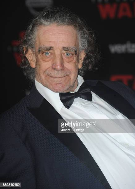 Actor Peter Mayhew arrives for the Premiere Of Disney Pictures And Lucasfilm's 'Star Wars The Last Jedi' held at The Shrine Auditorium on December 9...