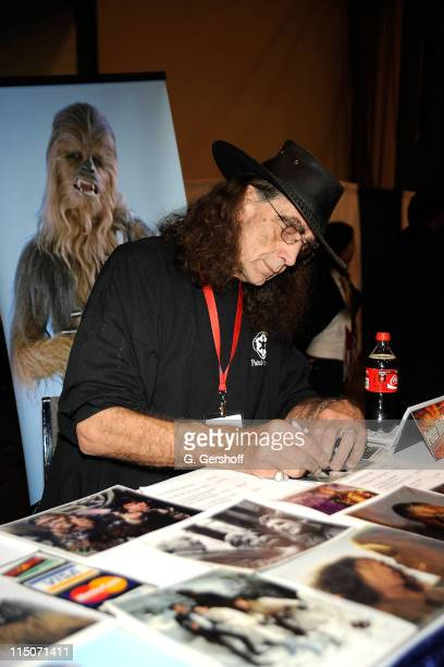 Actor Peter Mayhew attends the 2009 New York Comic Con at the Jacob Javits Center on February 7 2009 in New York City
