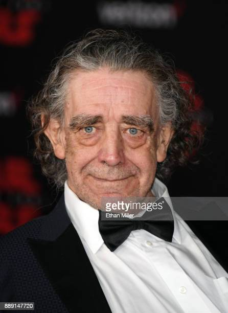 Actor Peter Mayhew attends the premiere of Disney Pictures and Lucasfilm's Star Wars The Last Jedi at The Shrine Auditorium on December 9 2017 in Los...