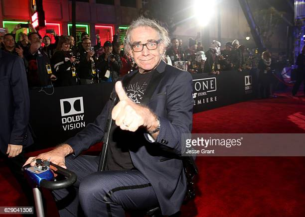 Actor Peter Mayhew attends The World Premiere of Lucasfilm's highly anticipated firstever standalone Star Wars adventure Rogue One A Star Wars Story...