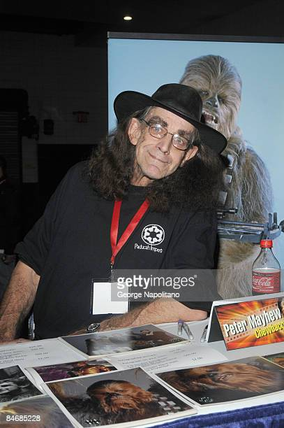 Actor Peter Mayhew 'Chewbacca' from Star Wars attends the 2009 New York Comic Con at the Jacob Javits Center on February 7 2009 in New York City