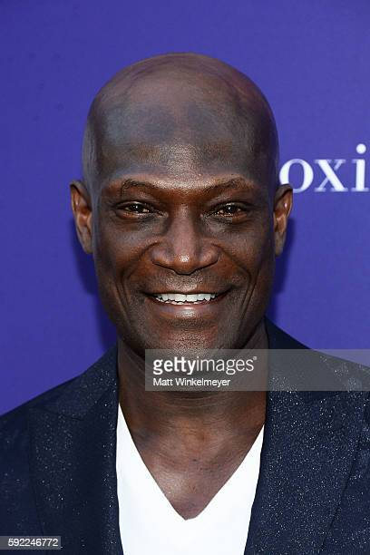Actor Peter Mensah arrives at the Benefit for onePULSE Foundation at NeueHouse Hollywood on August 19 2016 in Los Angeles California