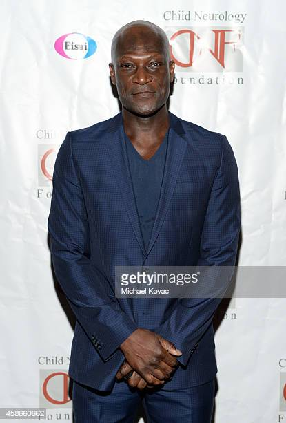 Actor Peter Mensah attends A Heroes Dinner Honoring John Laurian Scott hosted by the Child Neurology Foundation at the Four Seasons Hotel Los Angeles...