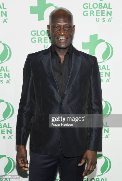 Actor Peter Mensah attends the 14th Annual Global Green Pre Oscar Party at TAO Hollywood on February 22 2017 in Los Angeles California