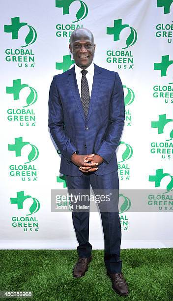 Actor Peter Mensah attends the Global Green USA's Millennium Awards at the Fairmont Miramar Hotel on June 7 2014 in Santa Monica California