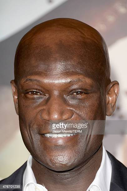 Actor Peter Mensah attends the premiere of Warner Bros Pictures and Legendary Pictures' '300 Rise Of An Empire' at TCL Chinese Theatre on March 4...