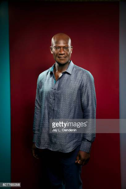 Actor Peter Mensah from the television series 'Midnight Texas' is photographed in the LA Times photo studio at ComicCon 2017 in San Diego CA on July...