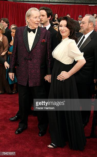 Actor Peter O'Toole and daughter Kate O'Toole attend the 79th Annual Academy Awards held at the Kodak Theatre on February 25 2007 in Hollywood...