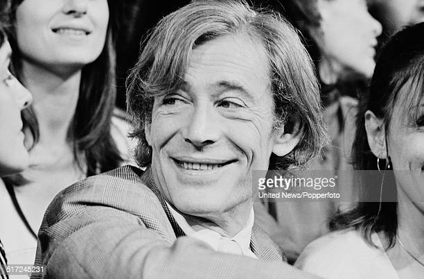 Actor Peter O'Toole pictured with the cast of Macbeth at the Old Vic Theatre in London on 19th August 1980