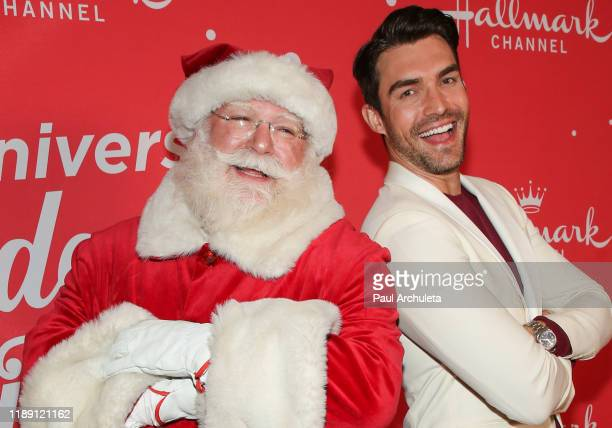 Actor Peter Porte attends Hallmark Channel's 10th Anniversary of Countdown To Christmas screening and party at 189 by Dominique Ansel on November 20...