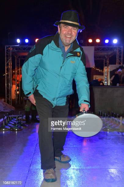 Actor Peter Rappenglueck attends the Angermaier 'Eisstock WM' at Park Cafe on January 15 2019 in Munich Germany