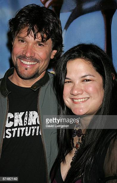 Actor Peter Reckell and musician Kelly Moneymaker attend NBC's Days of Our Lives and Passions preEmmy party at French 75 Bistro on April 27 2006 in...