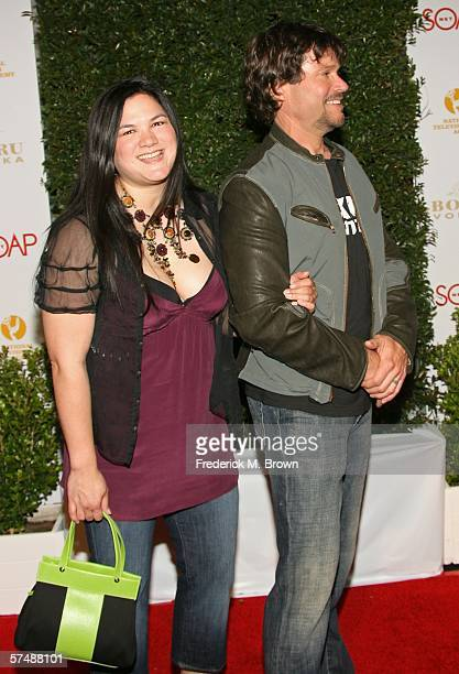 Actor Peter Reckell and wife Kelly Moneymaker arrive at the annual Daytime Emmy nominee party presented by SOAPnet held at the Hollywood Roosevelt...