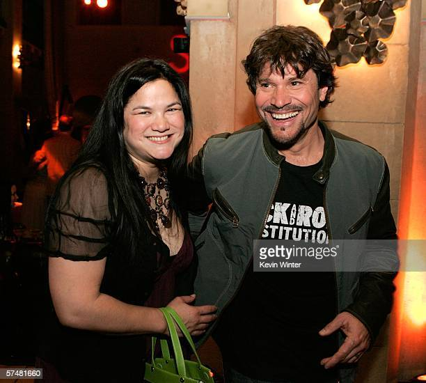 Actor Peter Reckell and wife Kelly Moneymaker attend the annual Daytime Emmy nominee party presented by SOAPnet held at the Hollywood Roosevelt Hotel...