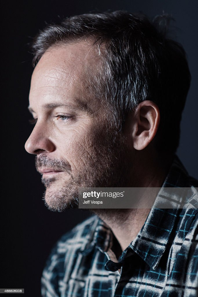 Actor Peter Saarsgard of 'Black Mass' poses for a portrait at the 2015 Toronto Film Festival at the TIFF Bell Lightbox on September 14, 2015 in Toronto, Ontario.