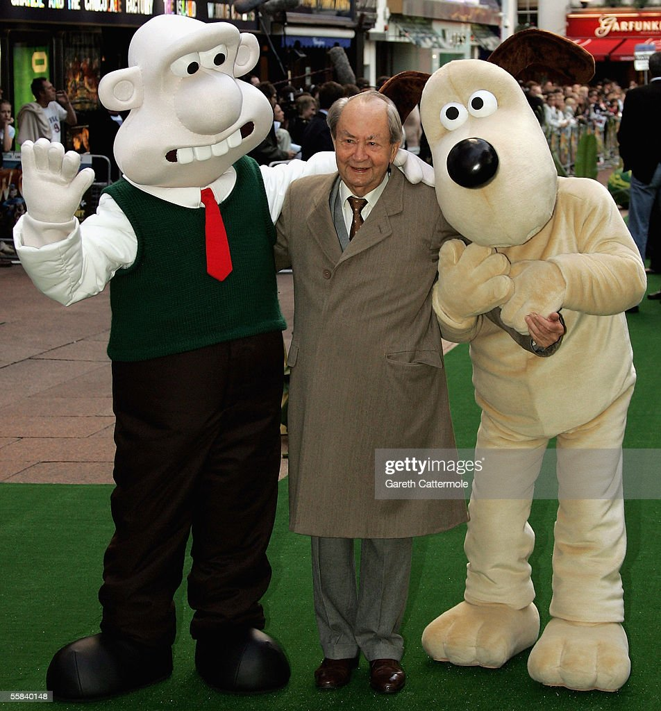 Actor Peter Sallis arrives at the UK Charity premiere of animated film 'Wallace & Gromit: The Curse Of The Were-Rabbit' at the Odeon West End on October 2, 2005 in London, England. The premiere is in aid of Wallace & Gromit Children's Foundation.