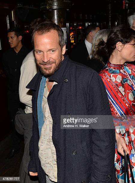 Actor Peter Sarsgaard attends Sony Pictures Classics' 'Only Lovers Left Alive' screening hosted by The Cinema Society and Stefano Tonchi Editor in...