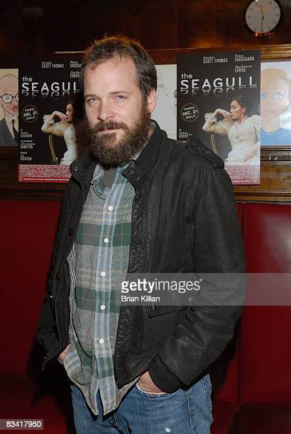Actor Peter Sarsgaard attends the after party for the opening night of The Seagull on Broadway at Sardi's on October 2 2008 in New York City
