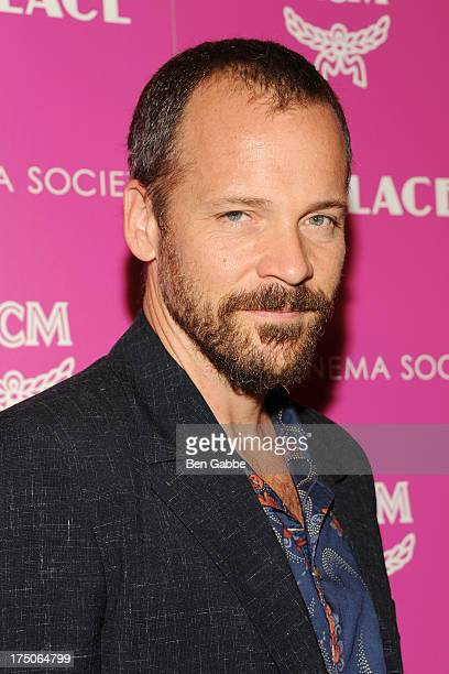 """Actor Peter Sarsgaard attends The Cinema Society and MCM with Grey Goose host a screening of Radius TWC's """"Lovelace"""" at The Museum of Modern Art on..."""