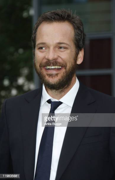Actor Peter Sarsgaard attends the 'Green Lantern' Germany Premiere at CineStar on July 25, 2011 in Berlin, Germany.