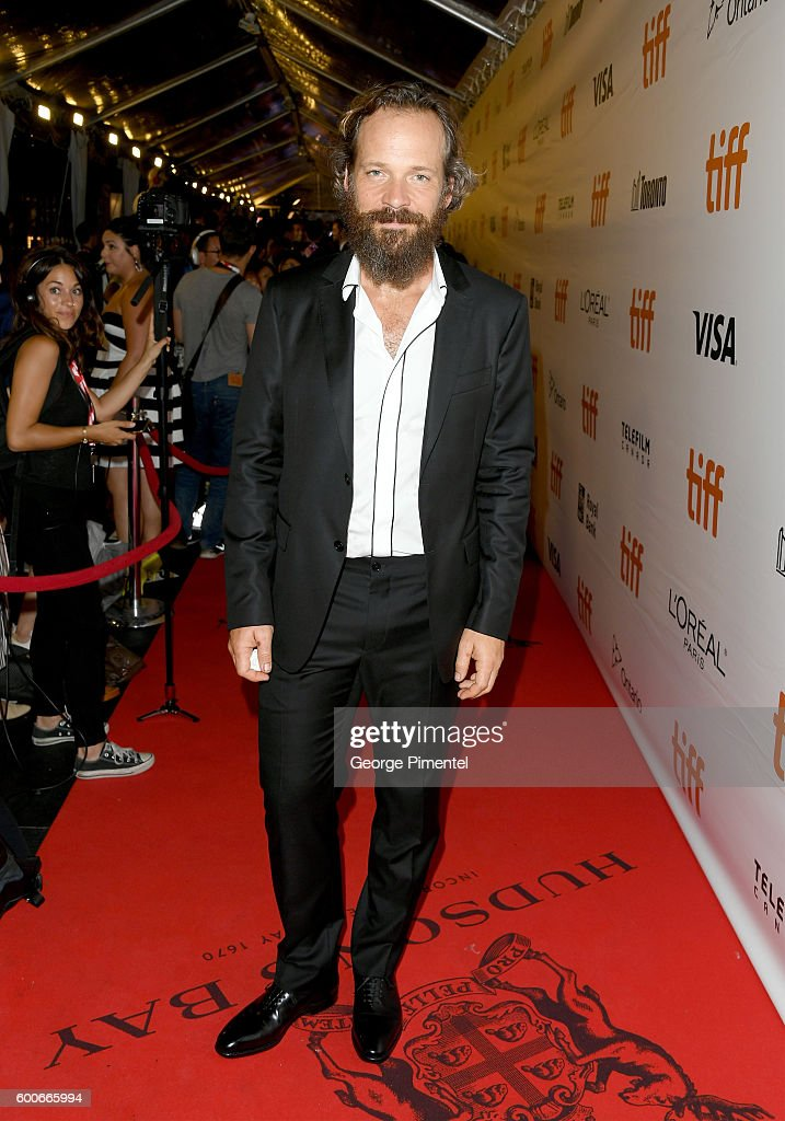 Actor Peter Sarsgaard attends 'The Magnificent Seven' premiere during the 2016 Toronto International Film Festival at Roy Thomson Hall on September 8, 2016 in Toronto, Canada.