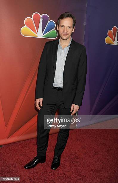 Actor Peter Sarsgaard attends the NBCUniversal 2015 Press Tour at the Langham Huntington Hotel on January 16 2015 in Pasadena California