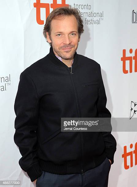 Actor Peter Sarsgaard attends the Pawn Sacrifice premiere during the 2014 Toronto International Film Festival at Roy Thomson Hall on September 11...