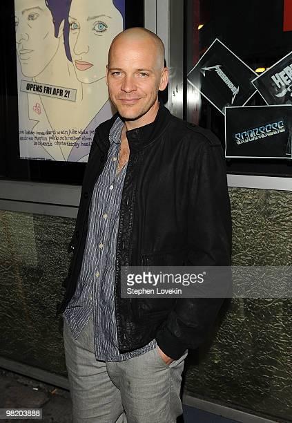 Actor Peter Sarsgaard attends the premiere of Breaking Upwards at the IFC Center on April 1 2010 in New York City
