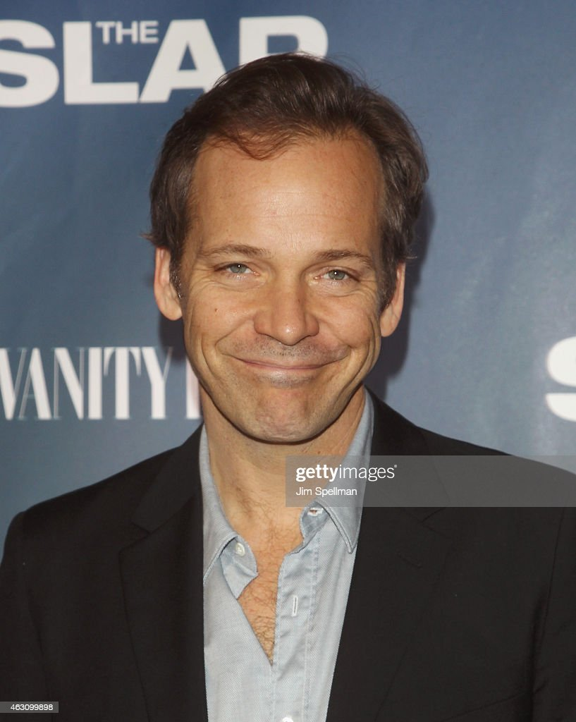 Actor Peter Sarsgaard attends 'The Slap' premiere party at The New Museum on February 9, 2015 in New York City.