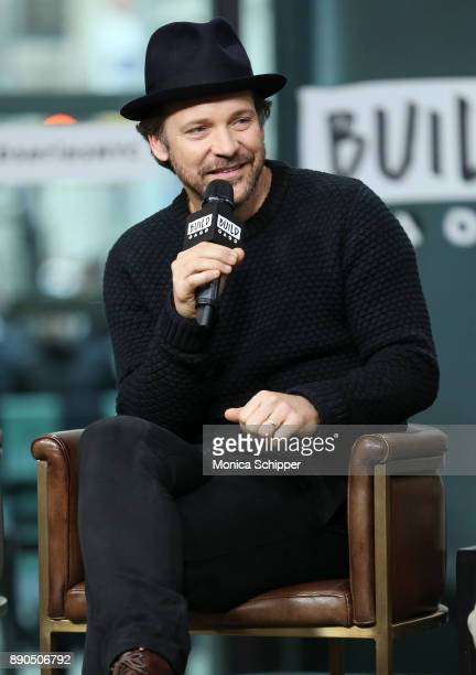 Actor Peter Sarsgaard discusses 'Wormwood' at Build Studio on December 11 2017 in New York City