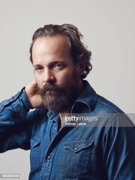 Actor Peter Sarsgaard is photographed for Self Assignment on September 2017 in Venice Italy