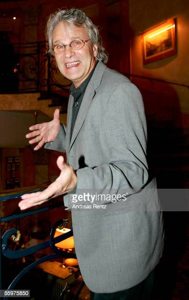 "Actor Peter Sattmann attends the aftershow party of the theatrical production premiere ""Jedermann"" at the Opera cafe on October 20, 2005 in Berlin,..."