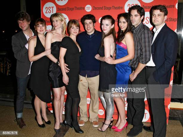 Actor Peter Scanavino actresses LauraLeigh Stephanie March Michelle Federer actor Jason Biggs actresses Betty Gilpin Paloma Guzman and actors Rhys...