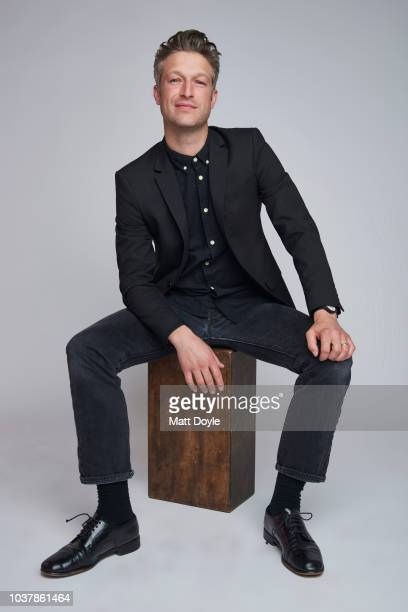 Actor Peter Scanavino of NBC's Law Order SVU poses for a portrait during the 2018 Tribeca TV Festival on September 20 2018 in New York City