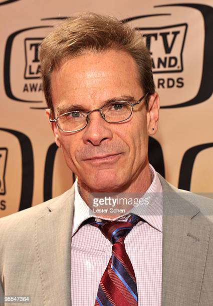 Actor Peter Scolari arrives at the 8th Annual TV Land Awards at Sony Studios on April 17 2010 in Los Angeles California