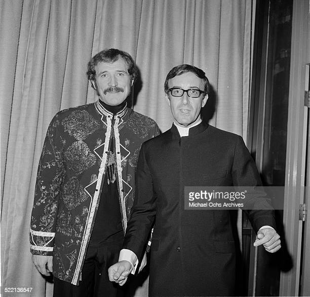 Actor Peter Sellers and Richard Harris attends an event in Los AngelesCA