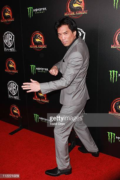 "Actor Peter Shinkoda attends the ""Mortal Kombat Legacy"" digital series premiere celebration at Saint Felix II on April 14, 2011 in Hollywood,..."