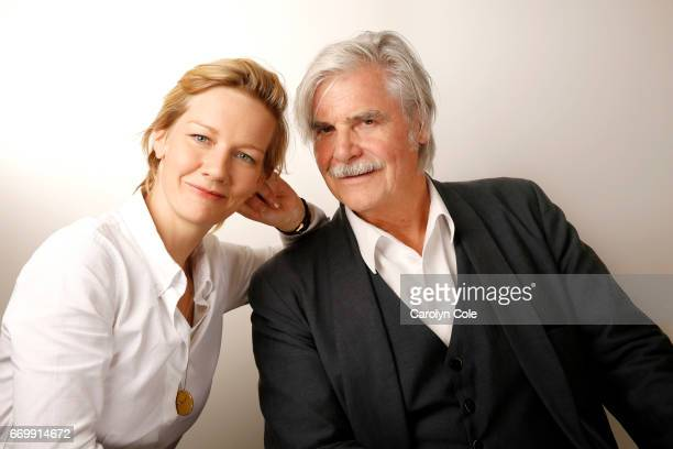 Actor Peter Simonischek and actress Sandra Huller are photographed for Los Angeles Times on October 4, 2016 in New York City. PUBLISHED IMAGE. CREDIT...