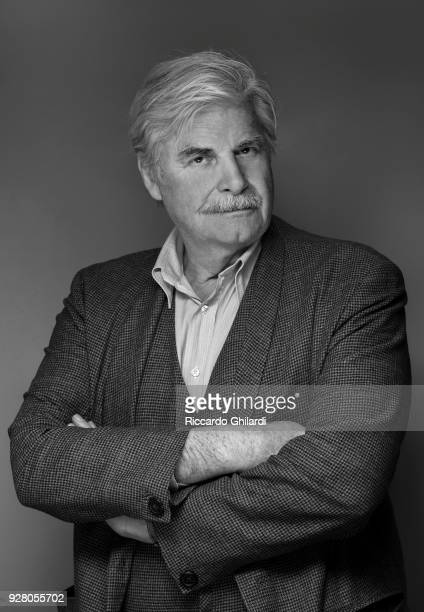 Actor Peter Simonischek poses for a portrait during the 68th Berlin International Film Festival on February, 2018 in Berlin, Germany. .