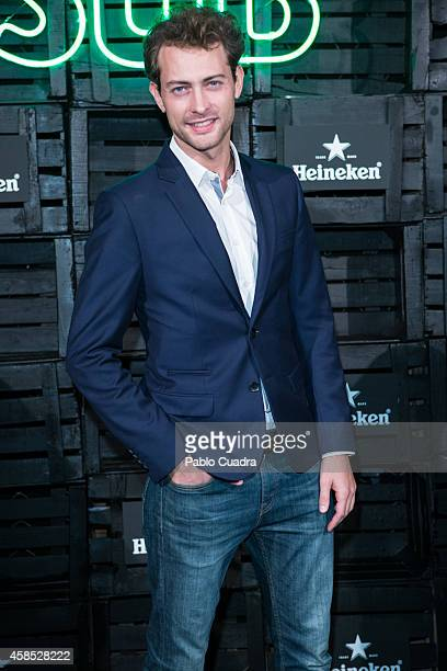 Actor Peter Vives attends a Heineken party at 'Media Lab Prado' on November 6 2014 in Madrid Spain
