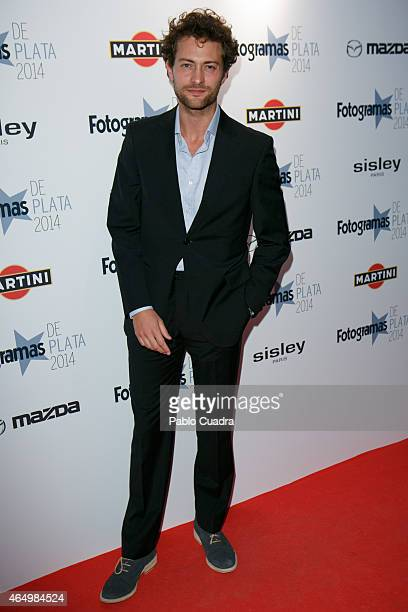 Actor Peter Vives attends 'Fotogramas Awards 2014' at Joy Eslava theater on March 2 2015 in Madrid Spain